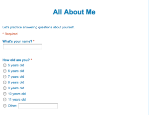 all about me questions - photo #21